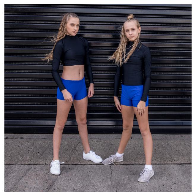 Royal Blue Cheerleading & Dance Briefs