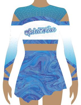Australian Cheerleading Uniform