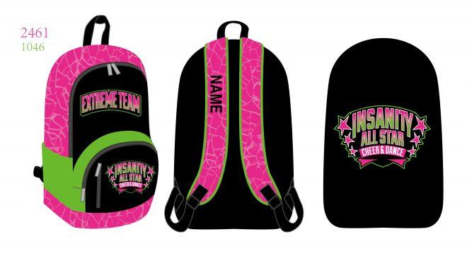 Custom Backpacks Insanity