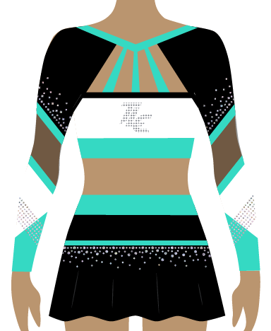 Sublimation Cheerleading Uniform