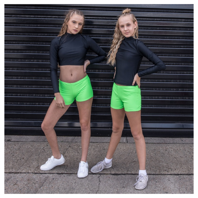 Neon Green Cheerleading Briefs