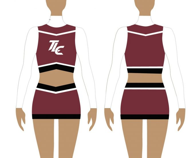 Uni Cheerleading Uniform