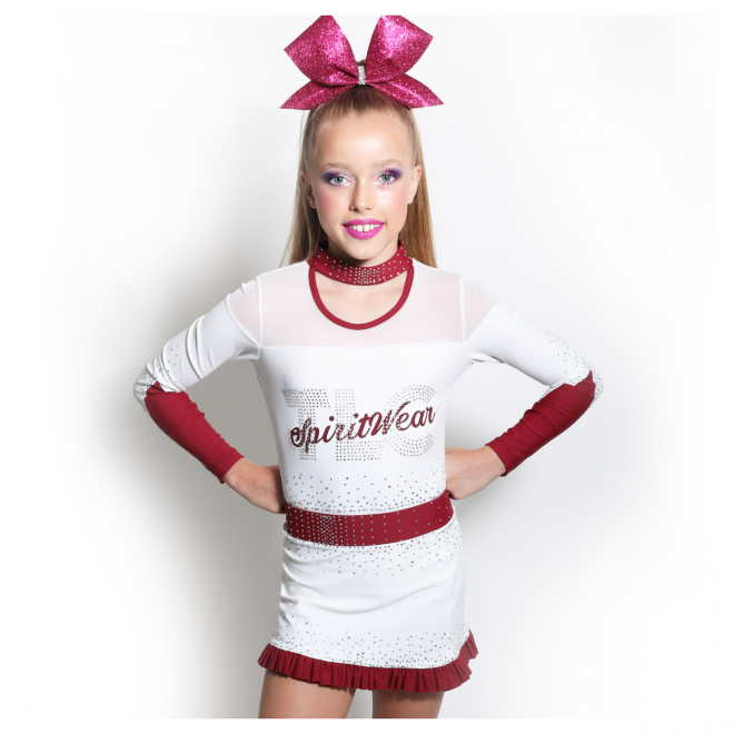 Lycra Cheerleading Uniforms