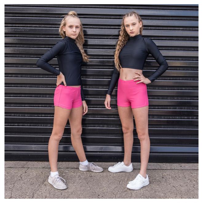 Lite Pink Cheerleading & Dance Briefs
