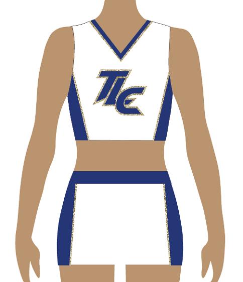 Classic Cheerleading Uniform