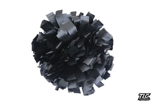 Black Plastic Cheerleading Pom Pom