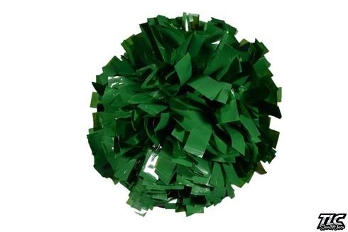 Dark Green Wetlook Cheerleading Pom Pom