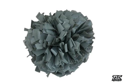 Grey Plastic Cheerleading Pom Pom