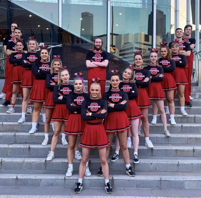 Swinburne Cheerleading Team