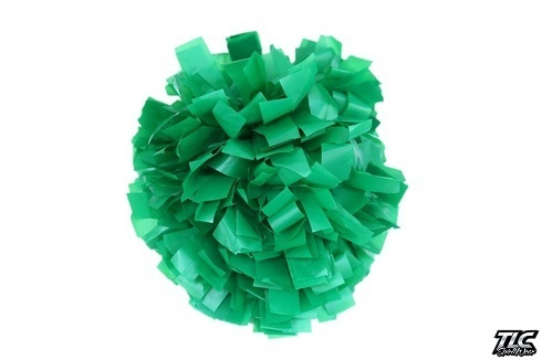 Kelly Green Plastic Cheerleading Pom Pom