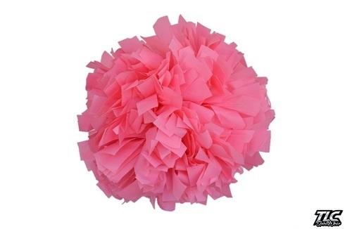 Light Pink Plastic Cheerleading Pom Pom