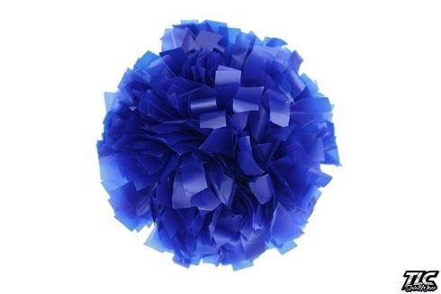 Royal Blue Plastic Cheerleading Pom Pom
