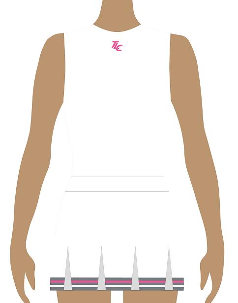 Traditional Polyester Cheerleading Uniform