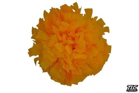 Yellow Plastic Cheerleading Pom Pom