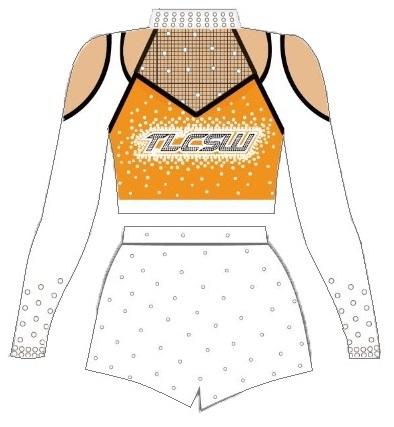 TLC Spirit Wear Lycra Cheer & Dance Uniforms Australia