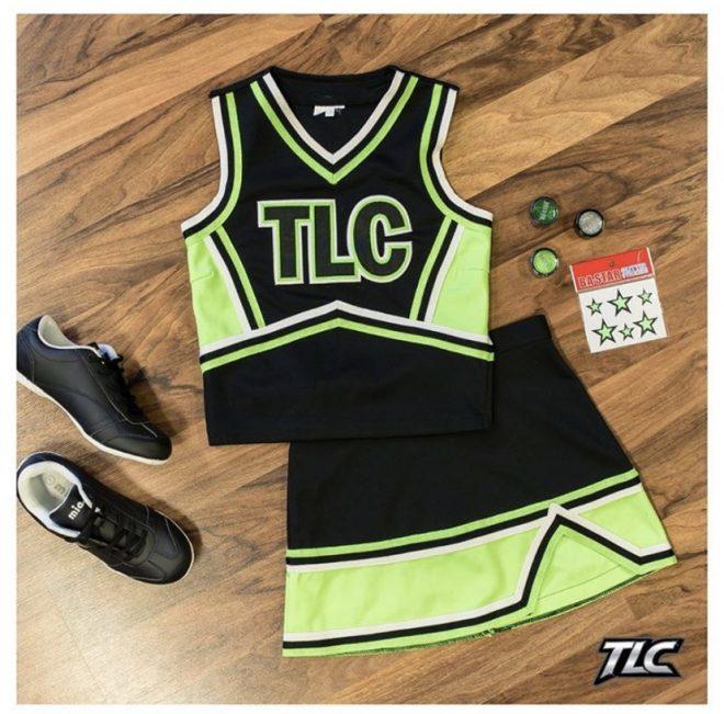 TLC Spirit Wear Neon Traditional Cheerleading Uniforms