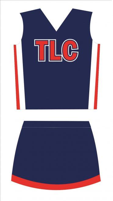 TLC Spirit Wear Traditional Cheerleading Uniforms