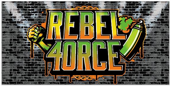 Rebel 4orce Gym Banner