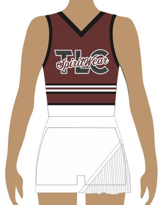 Australian School Uni Cheerleading Uniforms